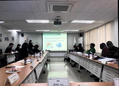 개발도상국 8개국과 '청렴건설행정시스템' 연수회 개최
