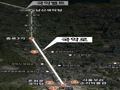 서울시, '25년 돈화문로 일대 '국악로' 세계적 국악 관광명소 만든다