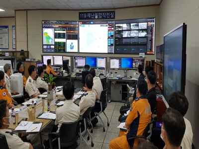 경기도소방, 시‧군 CCTV도 한 눈에 확인. 재난대응 더 빨라져