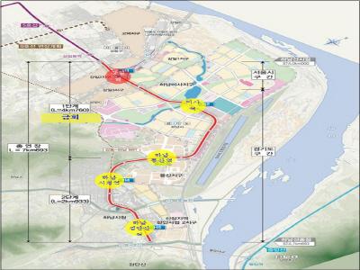 광역철도 '하남선' 1단계 구간, 8일 개통‥